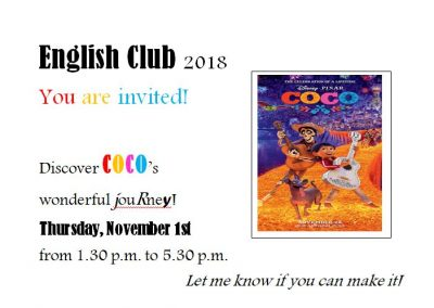 Le Mouret English - EC Club invitation-